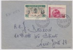 2nd cover dataed 1947 postmarked oroshi - cropped
