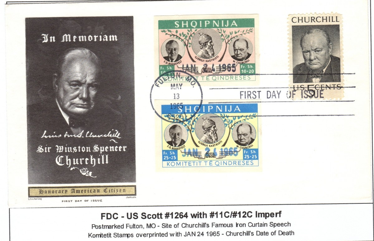 Churchill FDC 1
