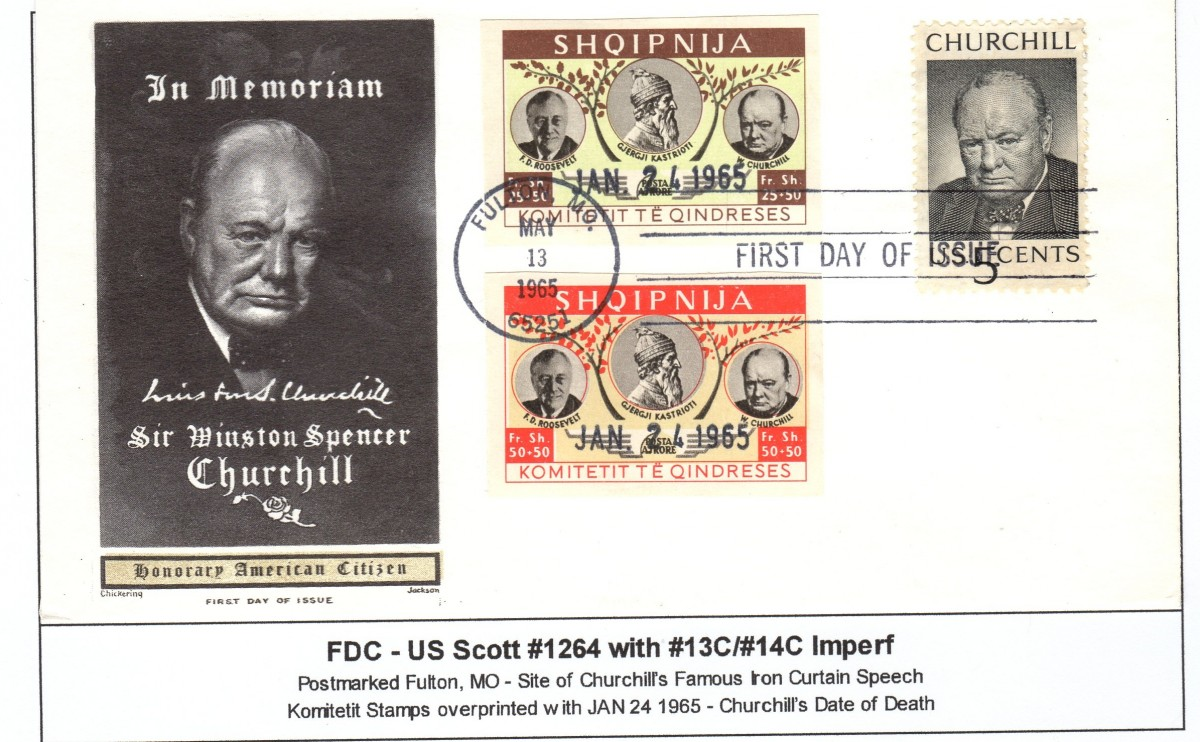 Churchill FDC 2