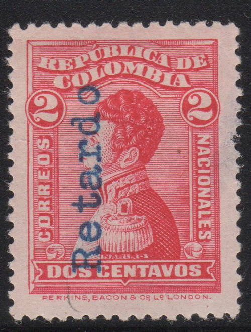 Scott #341 Retardo Overprint (1919)