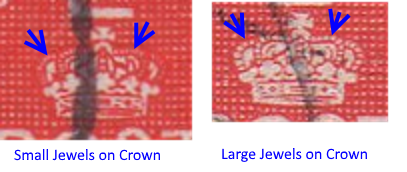 Large Jewels in Crown vs Small Jewels in Crown