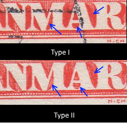 20o Red Type I and II