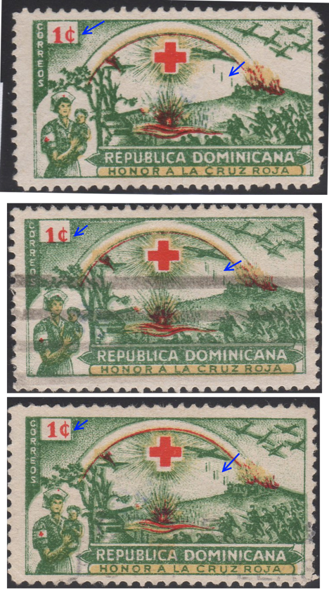 1944 1c Color Shifts