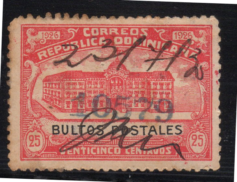 Dominican Republic 1926 Revenue Stamp