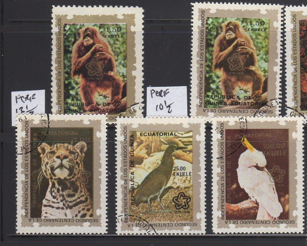 Animal Kingdom Other African Stamps Africa 50 Different African Animals Stamps